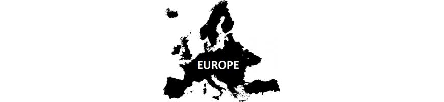 Druhy z Evropy